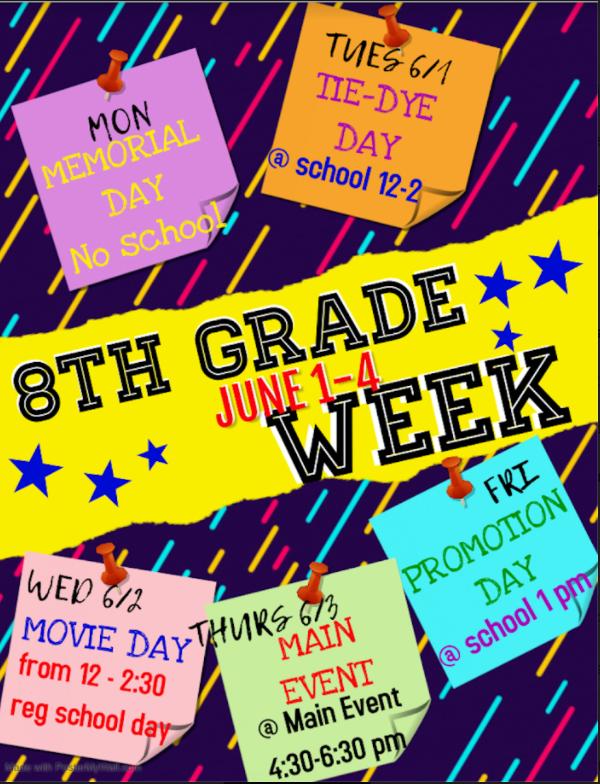 8th Grade Week