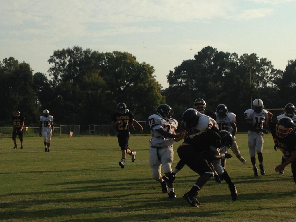 making tackles