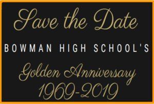 Save the Date 50th Anniversary