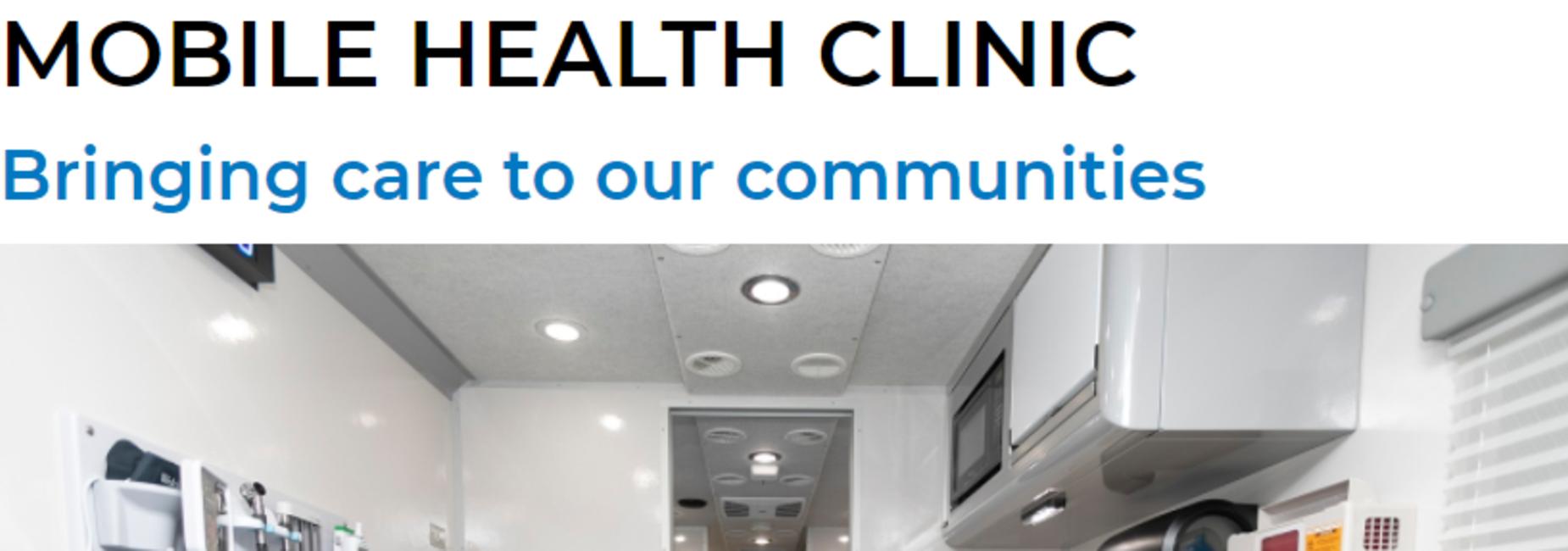 The Salinas Valley Memorial Mobile Health Clinic