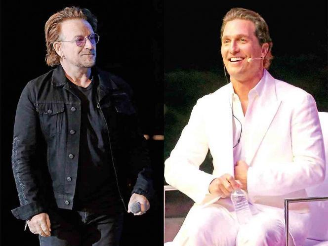 Bono y Matthew McConaughey desean un mundo con equidad Featured Photo