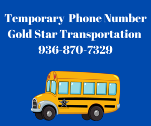Temporary Phone Number Gold Star Transportation 936-.png