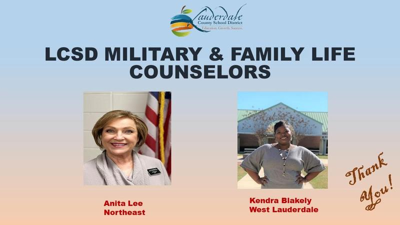 LCSD Military and Family Life Counselors