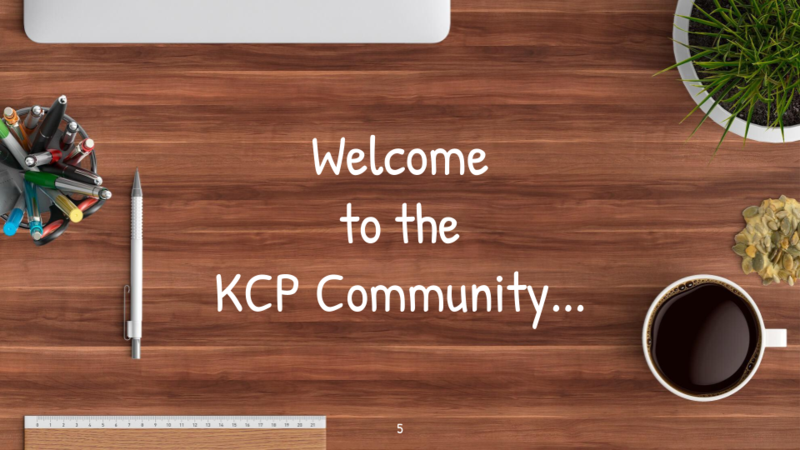 Welcome to the KCP community ! Featured Photo
