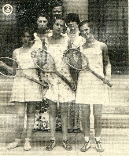 Tennis fashion show