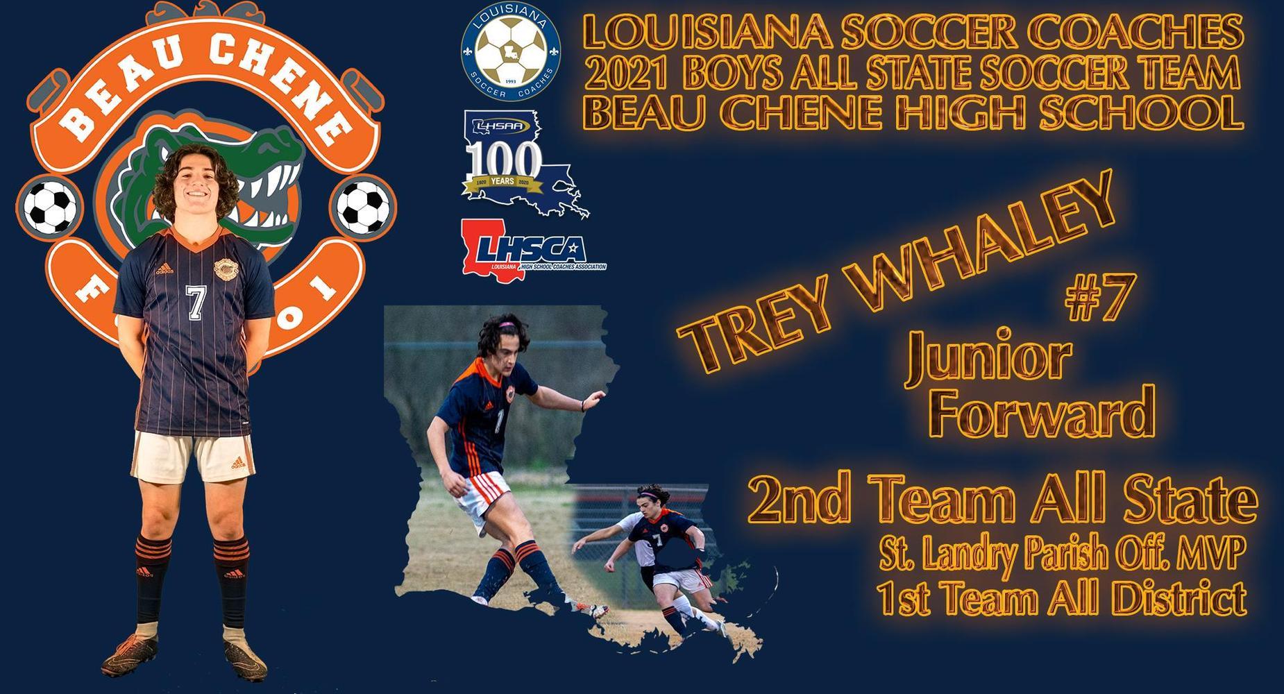 LHSSA Soccer Coaches Boys All State Soccer Team