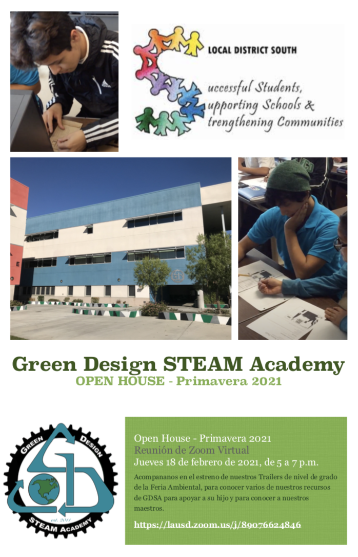 GDSA Open House on February 18 from 5:00-7:00pm Image