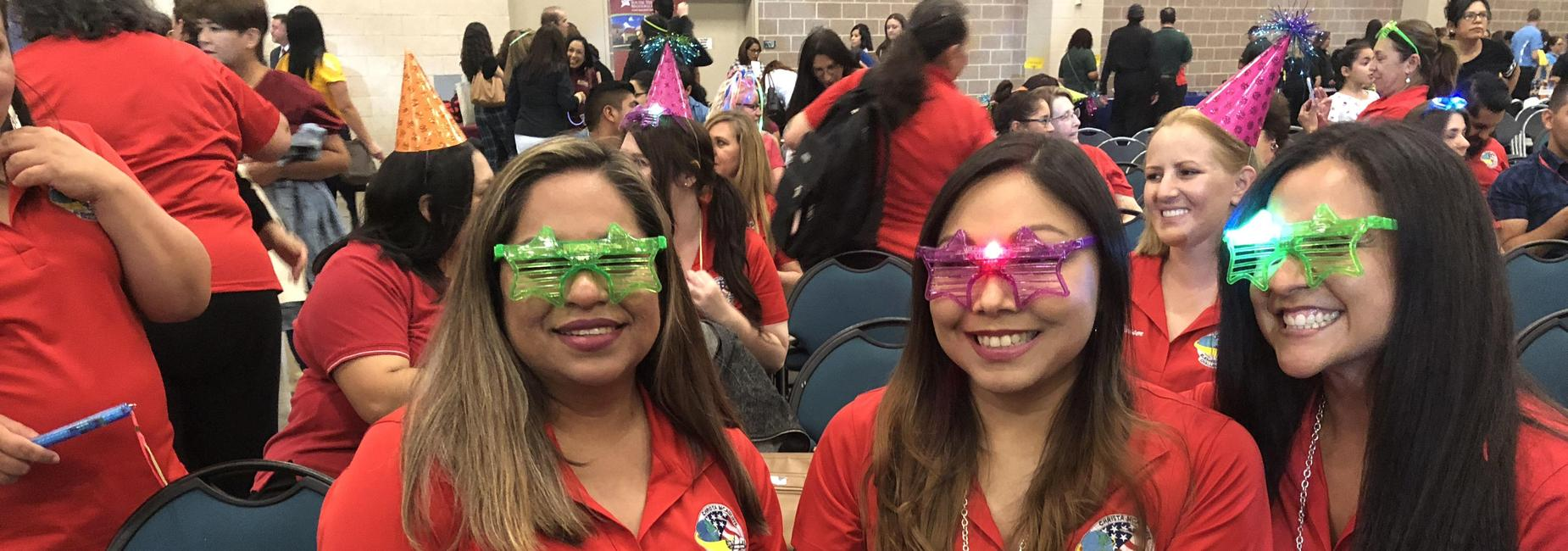 3rd Grade Teachers at the district convocation.