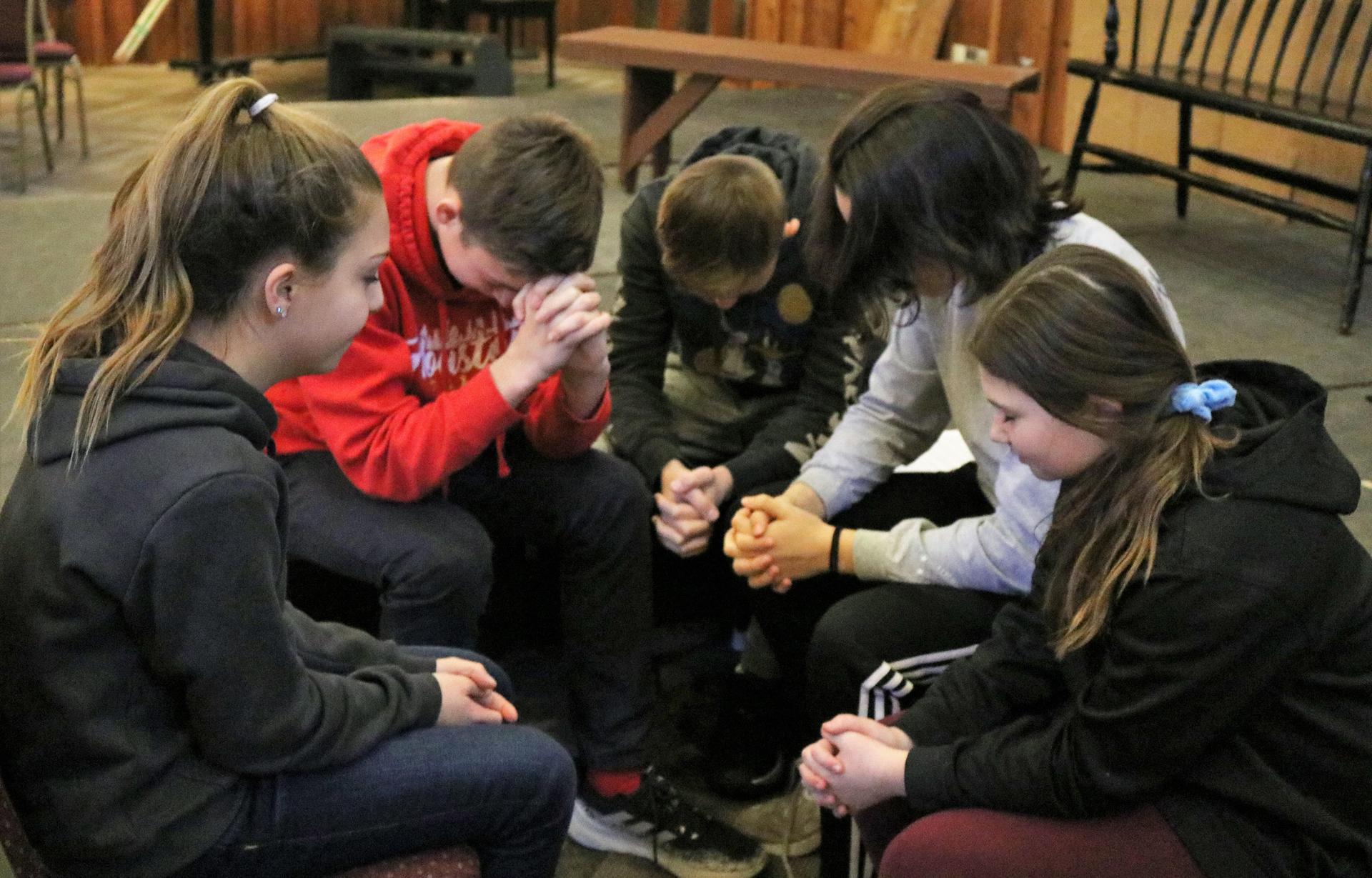 Middle School Spiritual Life