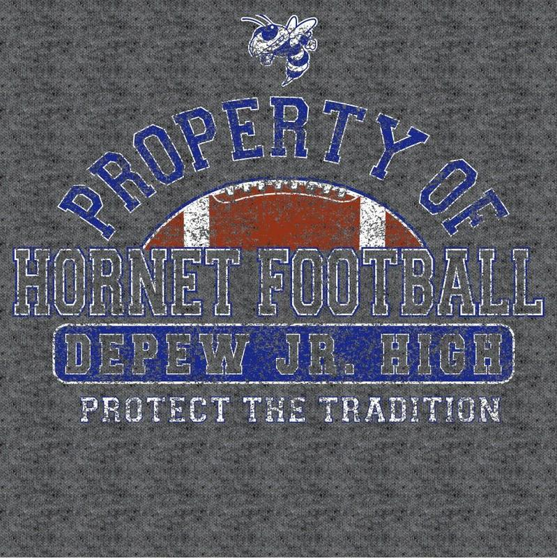 Depew JH Football shirts now on sale Featured Photo