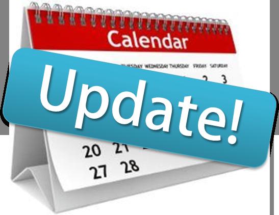 Update! Calendar Change