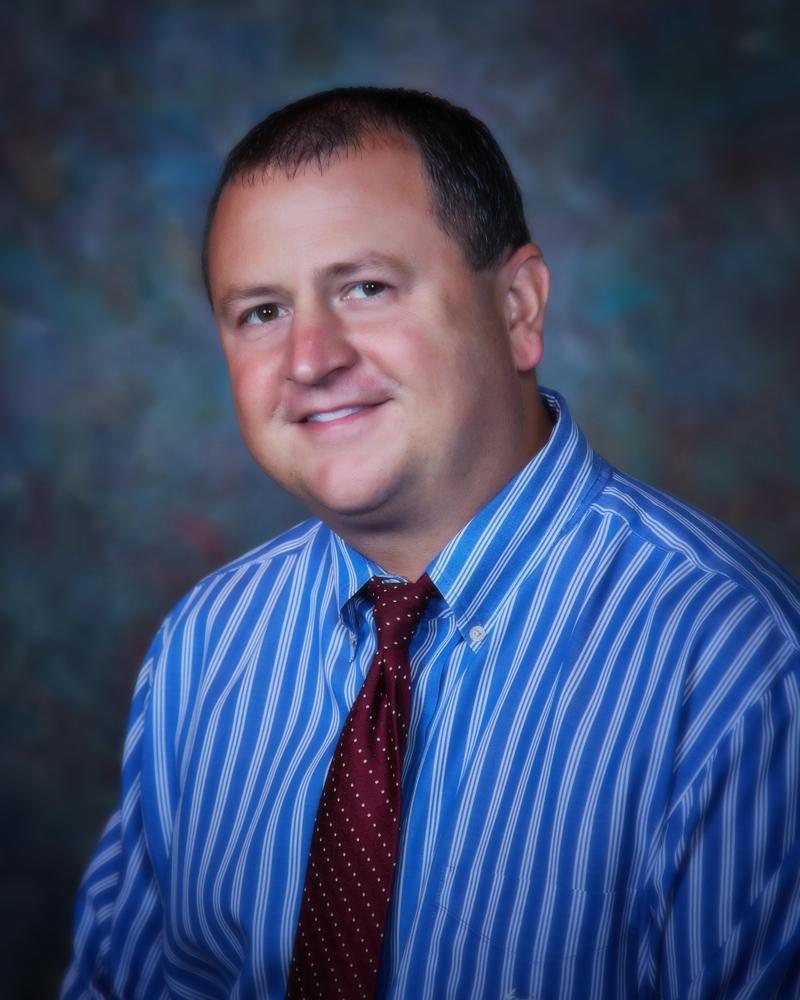 USD 353 Superintendent Adam Hatfield