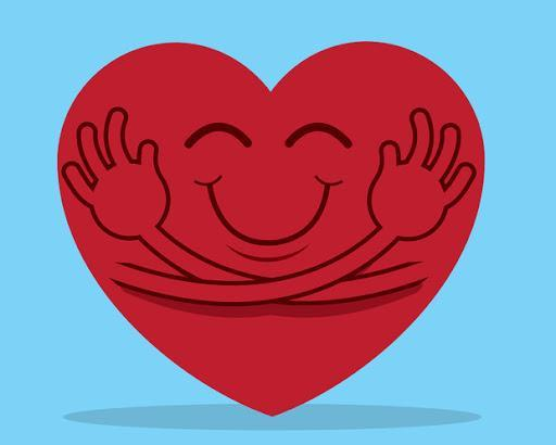 Hugging Heart