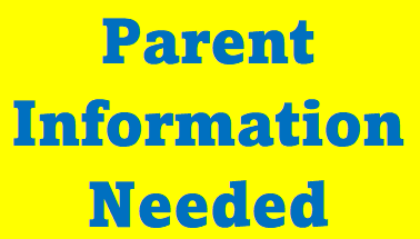 Parent Info. Needed for School Eligiblility Featured Photo