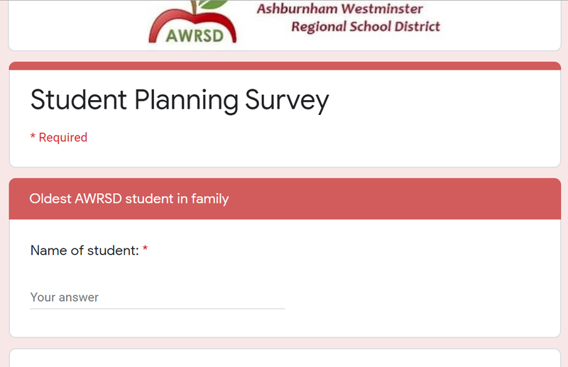 Student Planning Survey Featured Photo
