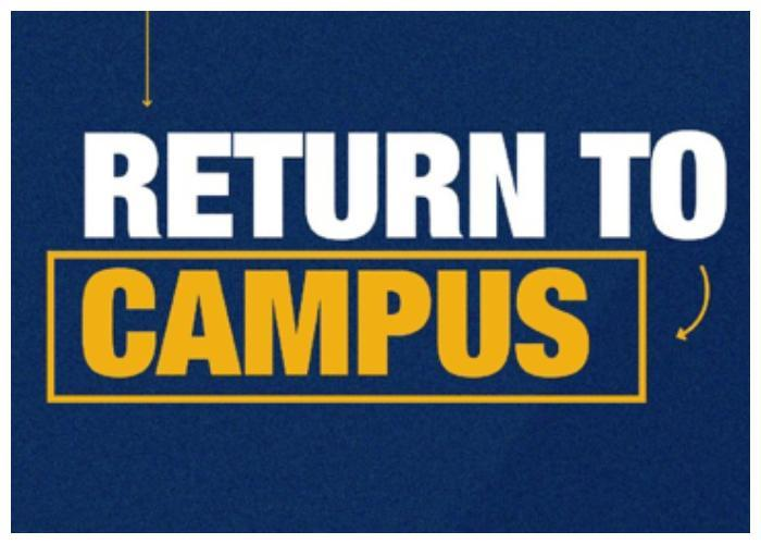 September Return to Campus Plan Featured Photo