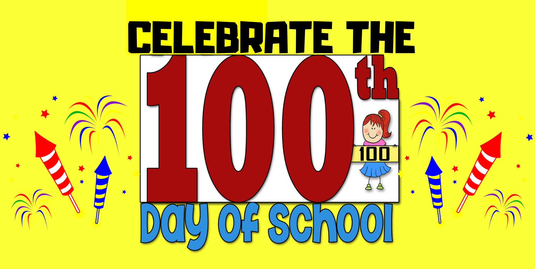 100 days of school on Monday