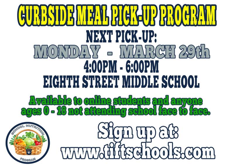 Curbside Meal Pickup for Online Learners - Monday, March 29th Featured Photo