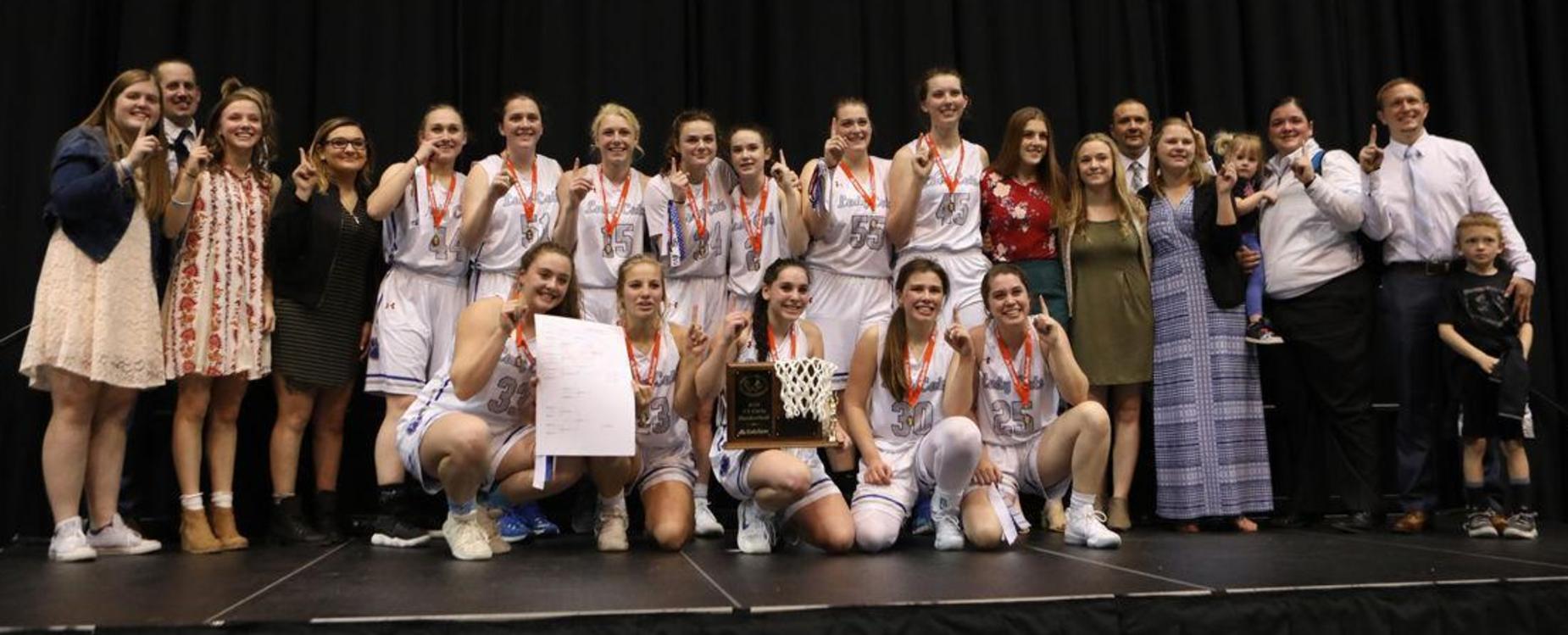 2018 Class 3A State Basketball Champions!