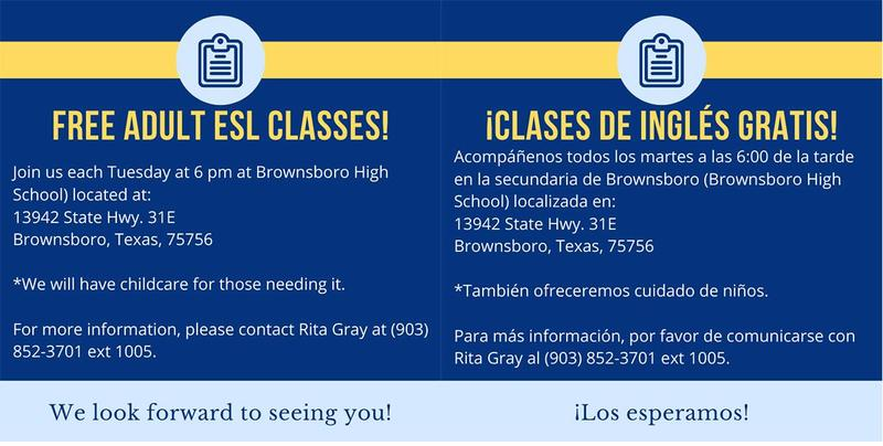 BISD now offering Adult ESL classes Featured Photo