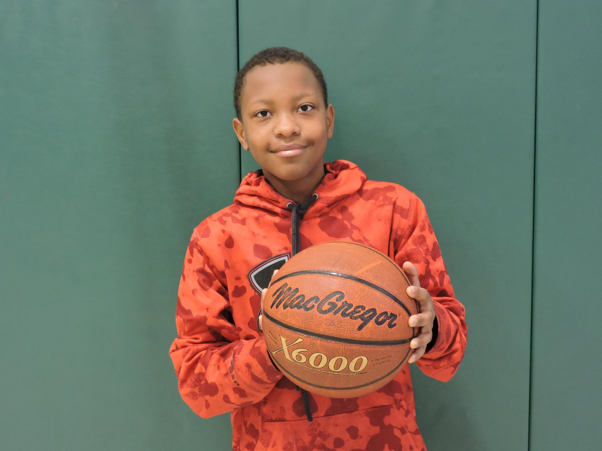 School hoop shoot winners