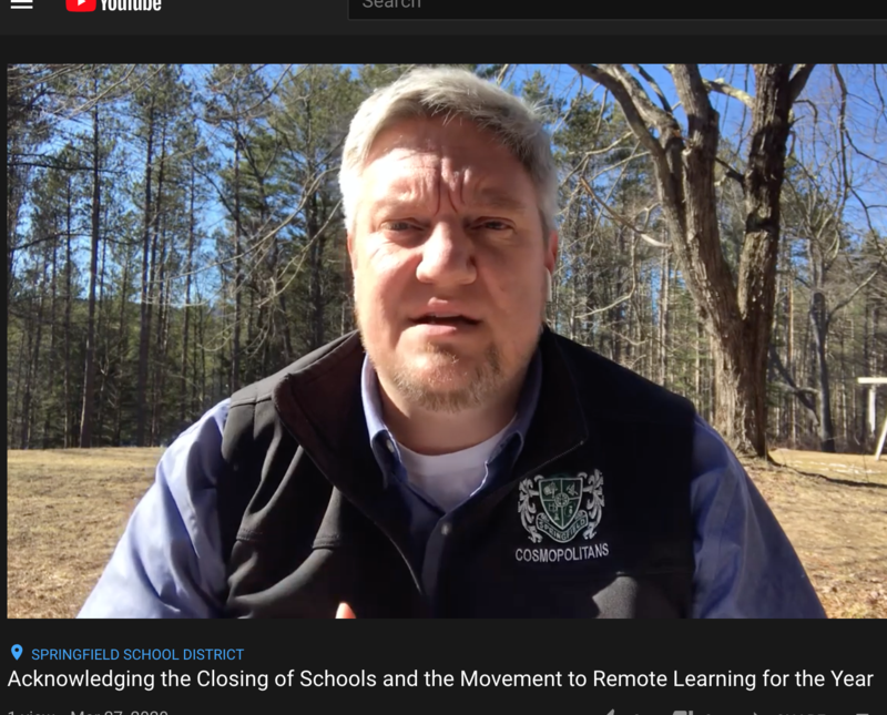 Video: Acknowledging the Governor's Closure of Schools Featured Photo