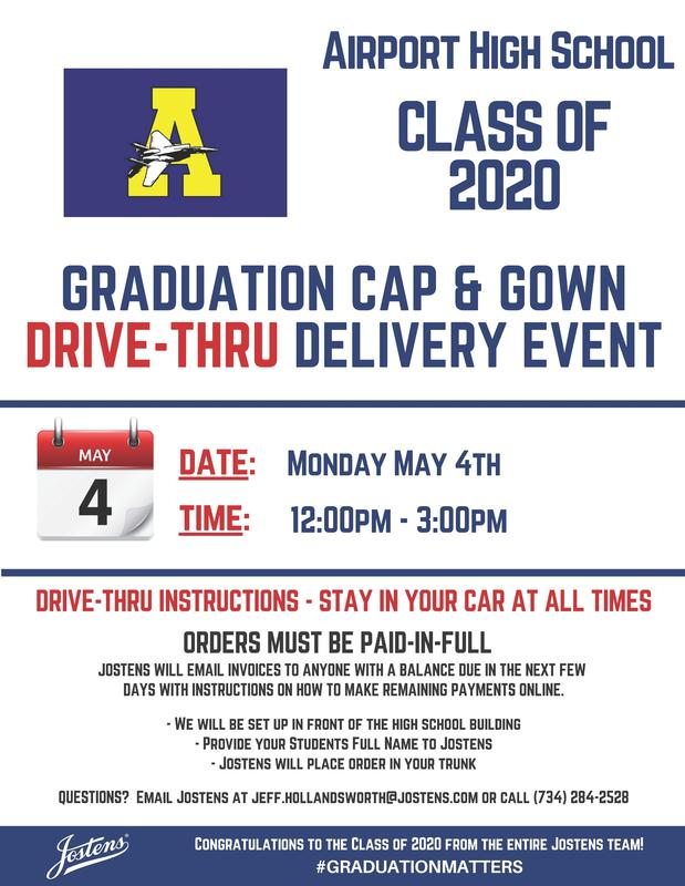 Cap and Gown Pick Up Information