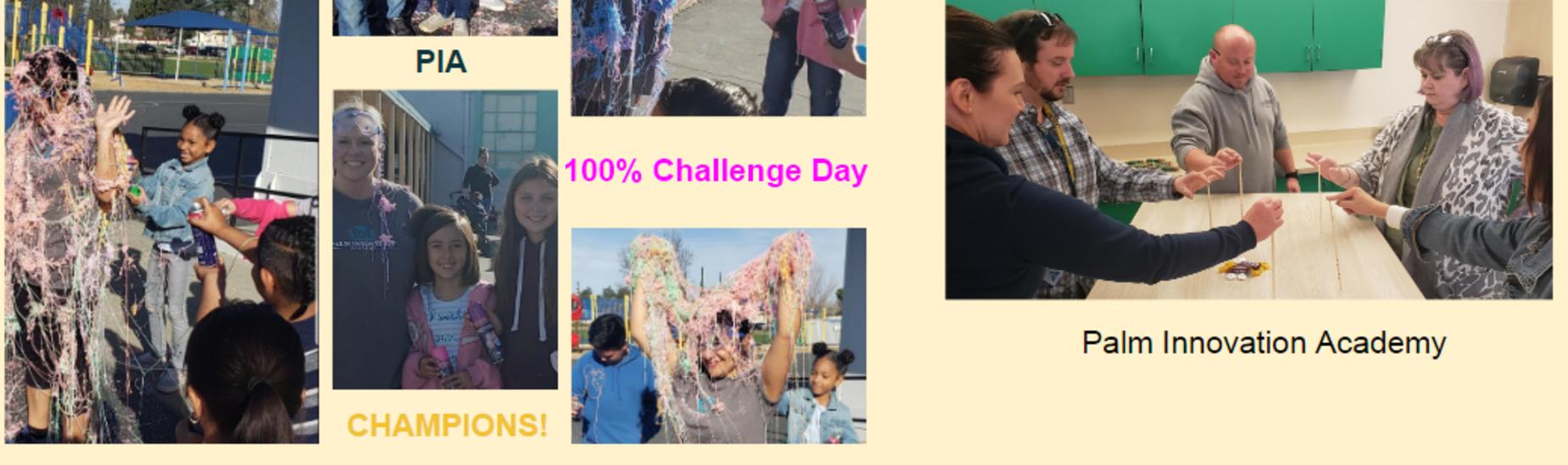 100% Attendance Challenge Day