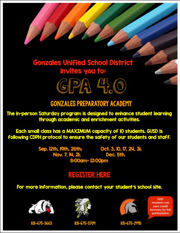 GPA 4.0 Flyer