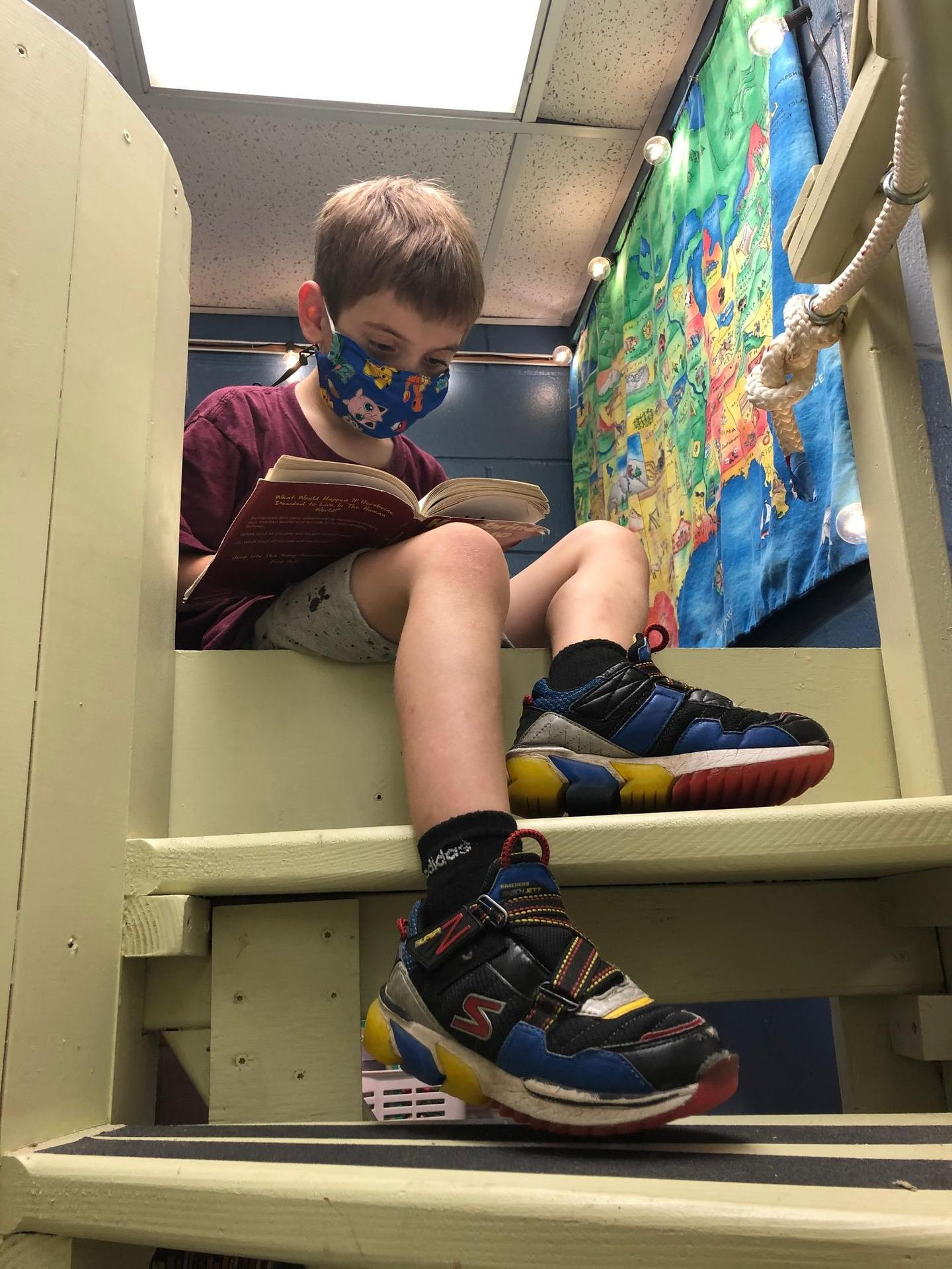 reading in nook