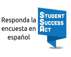 Take the survey in Spanish (SSA Logo)
