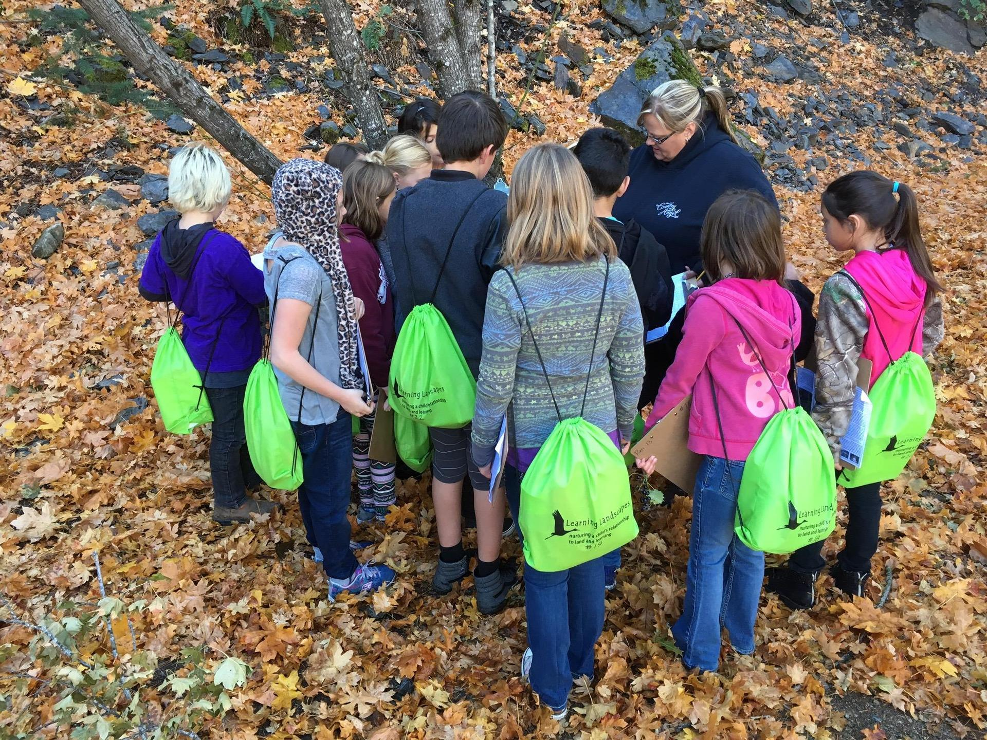 Belden Questing with 4th graders