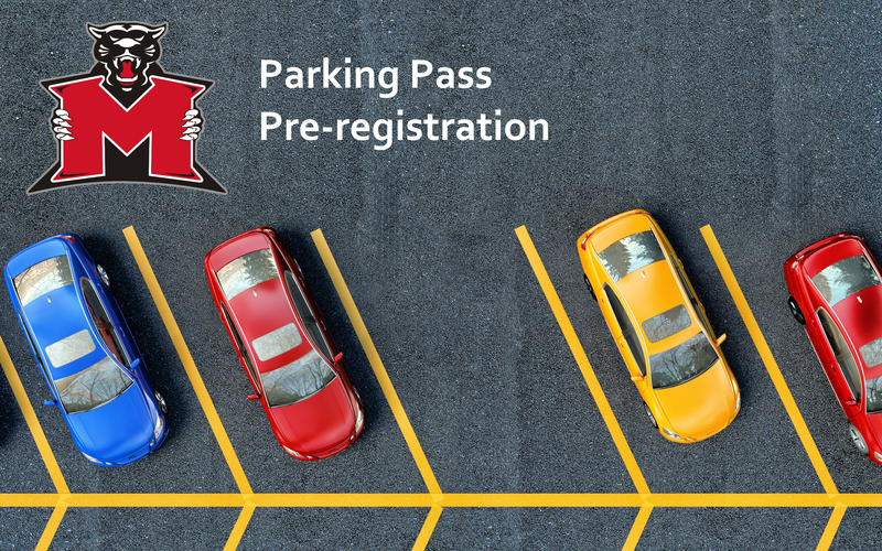 Parking Pass Pre-registration Featured Photo