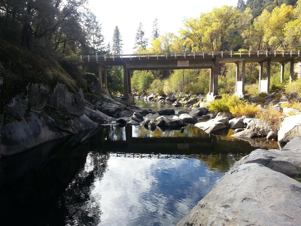 Mokelumne River and bridge