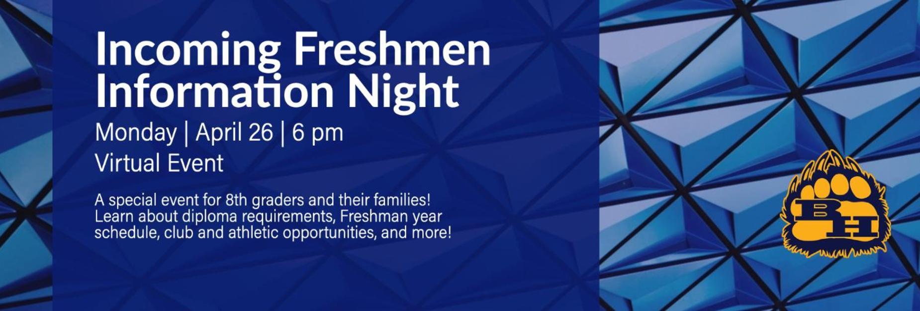 Freshmen Info
