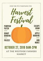 Harvest Festival- October 27th from 9:00 AM to 2:00 PM Thumbnail Image