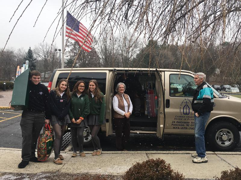 Interact Delivers Christmas Collections to Catholic Charities Featured Photo