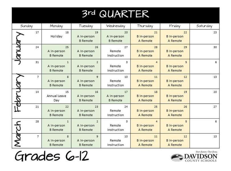 3rd Quarter 6-12