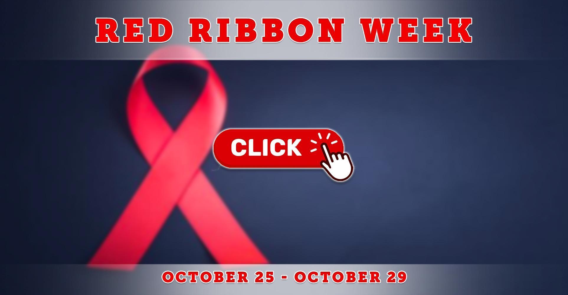 Red Ribbon Week Begins October 25!