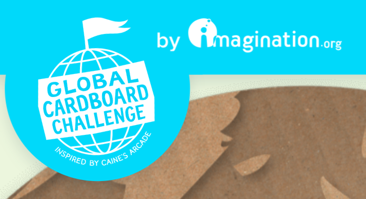 Rowland Elementary Students are participating in the Global Cardboard Challenge Featured Photo