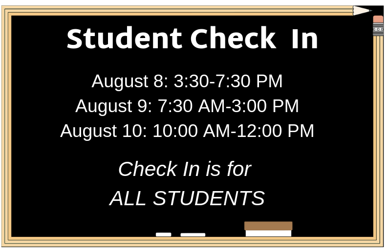 Student Check in