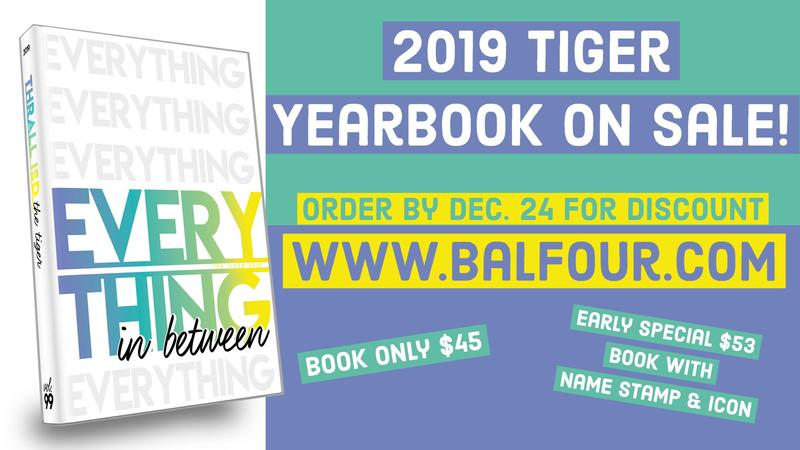 2019 Tiger Yearbook On Sale Now! Thumbnail Image