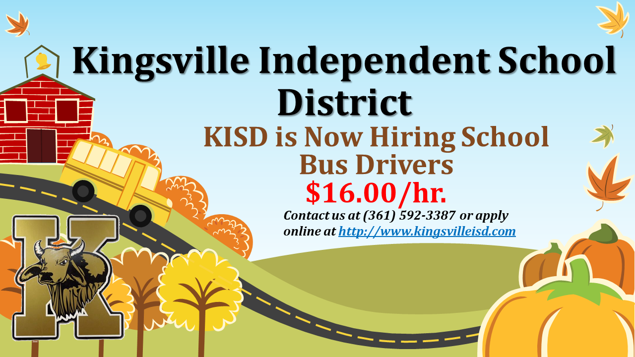Bus Driver Hiring Marquee