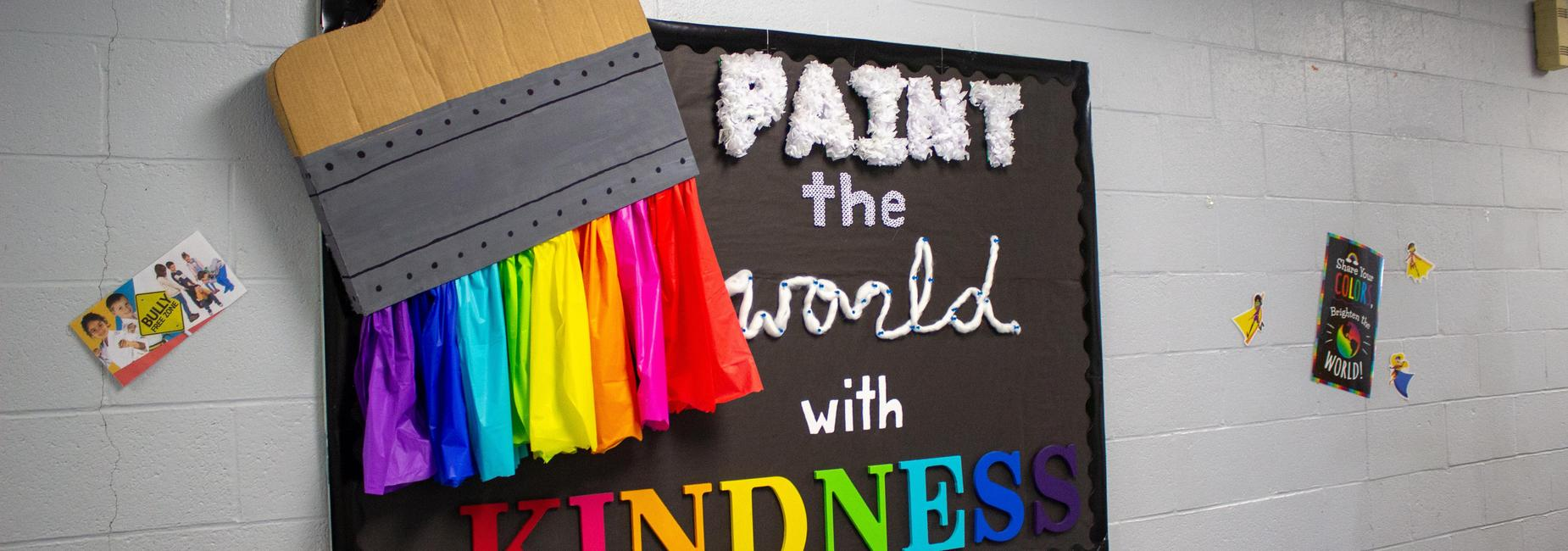 Paint the world with kindness.