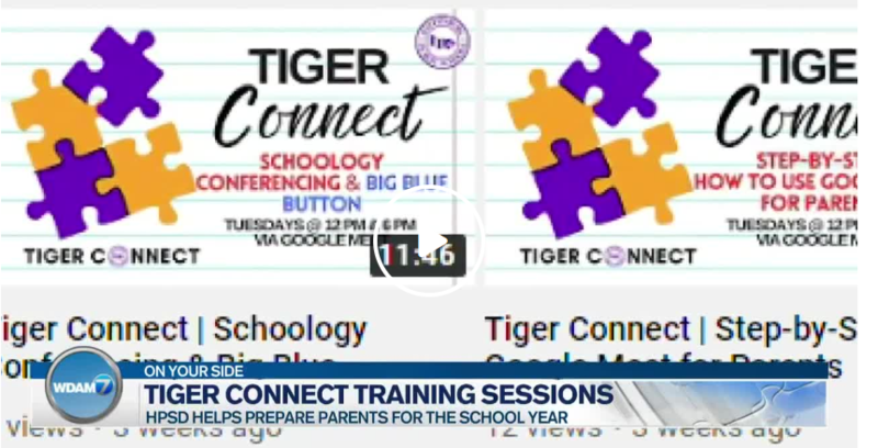 WDAM: HPSD 'Tiger Connect' training sessions offer resources to parents Featured Photo