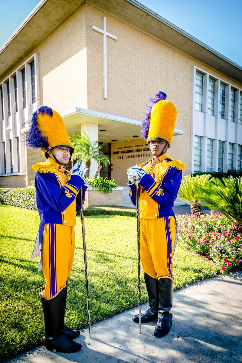 St. Augustine High School Marching 100 announces 2020-2021 Drum Majors Featured Photo