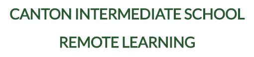 Information for Canton Intermediate Remote Learners Featured Photo