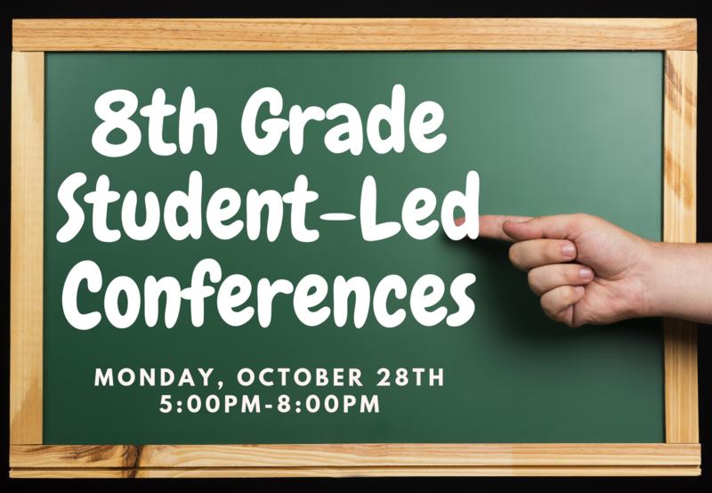 8th Grade Student-Led Conferences Thumbnail Image