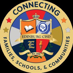 Edinburg CISD Connecting Families, Schools, and Communities logo