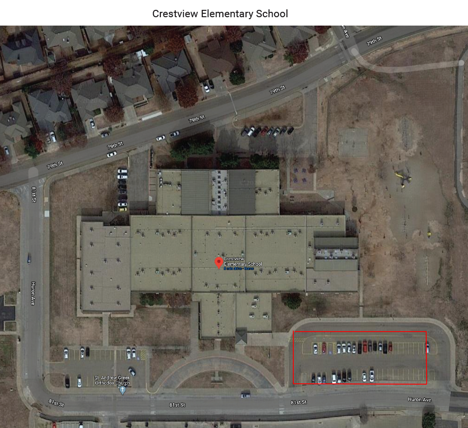 Crestview Elementary wifi map